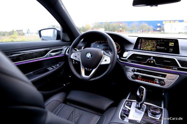 BMW 7er LCI Interieur