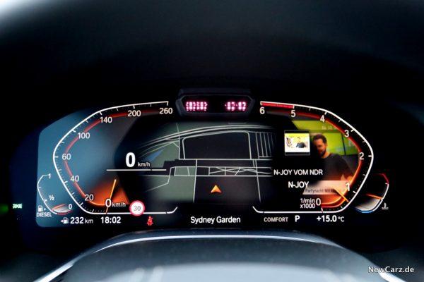 BMW Live Cockpit Professional 7er