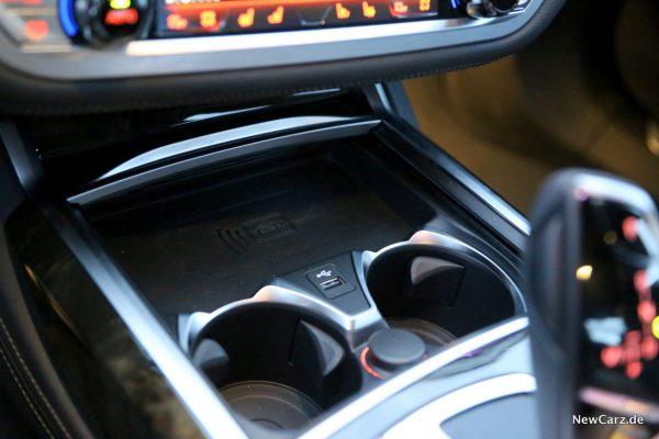 BMW 7er G11 LCI induktive Ladestation