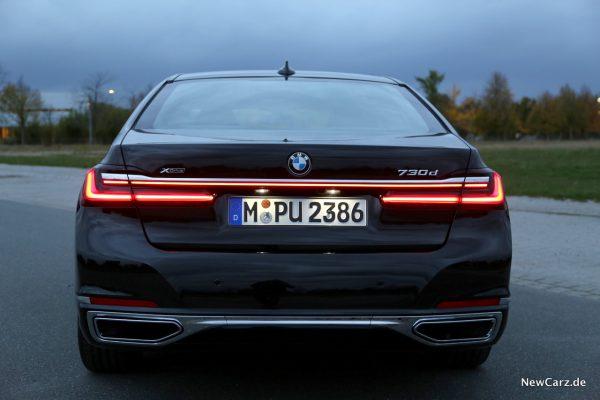 BMW G11 Facelift Lichtsignatur