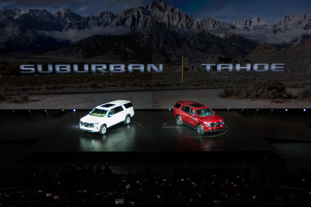 Chevrolet Suburban und Tahoe