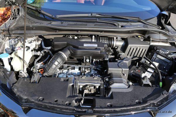 Motorraum Honda HR-V Sport
