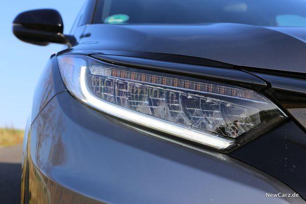LED-Scheinwerfer am Honda HR-V Sport