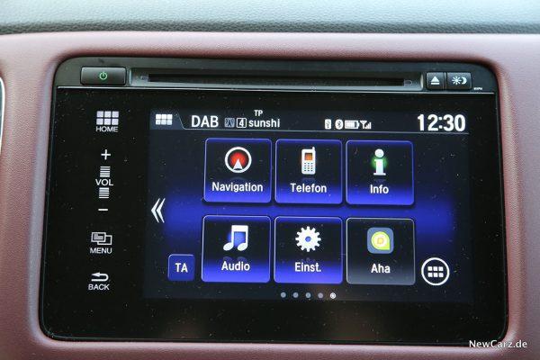 Zentralbildschirm Honda