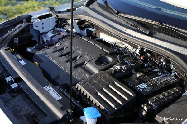 Motorraum Tarraco TDI