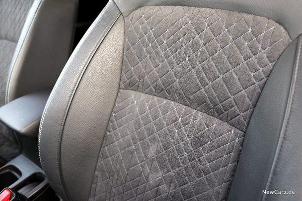 Sitzbezug im Suzuki SUV