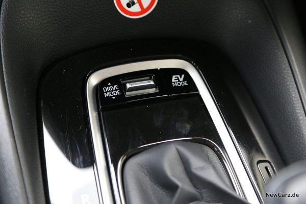 EV-Taste im Corolla Hybrid