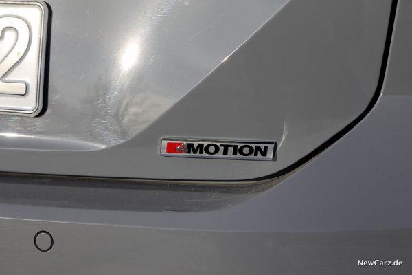 4Motion Plakette