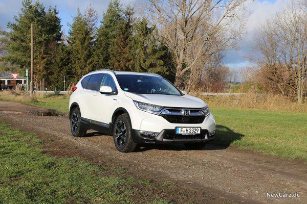 Honda CR-V Hybrid schräg vorne rechts