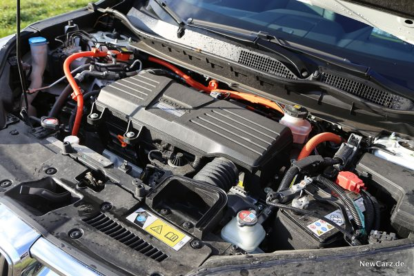 Motorraum CR-V Hybrid