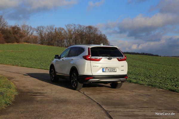 Honda CR-V Hybrid schräg hinten links