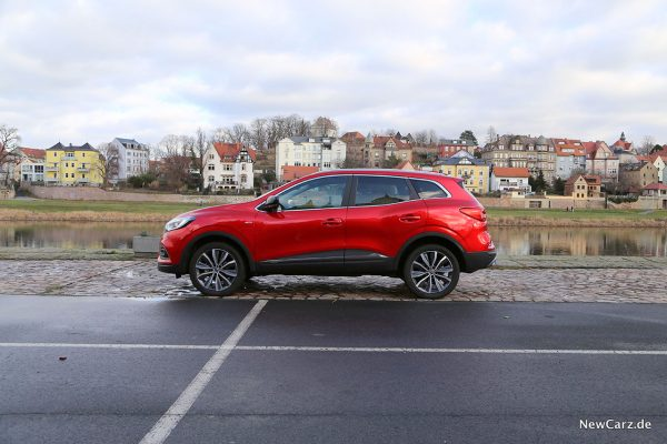 Renault Kadjar Facelift Seite