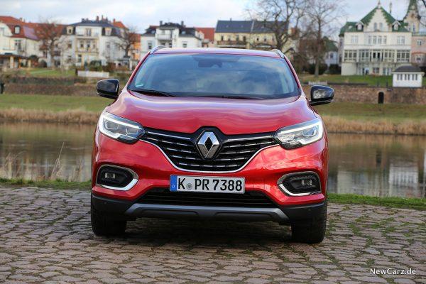 Renault Kadjar Facelift Front