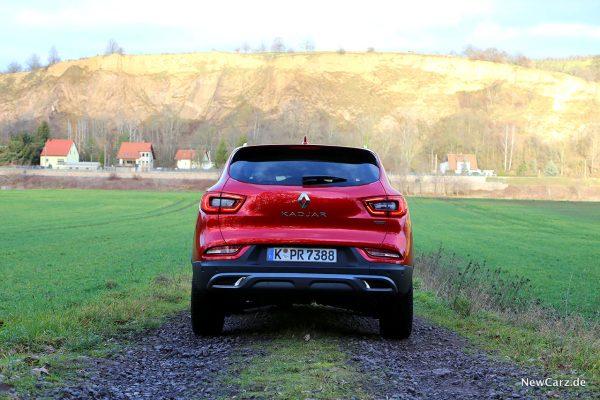 Renault Kadjar Facelift Heck