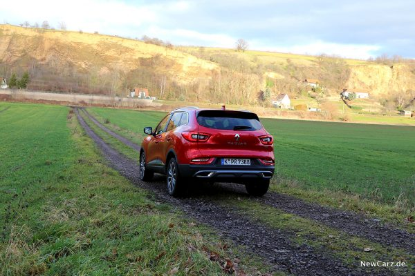 Renault Kadjar Facelift schräg hinten links