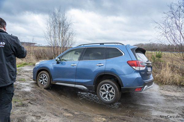 Achsverschränkung Subaru