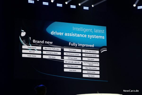 Volkswagen Caddy 5 Assistenz