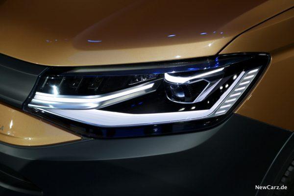 Volkswagen Caddy 5 LED Scheinwerfer
