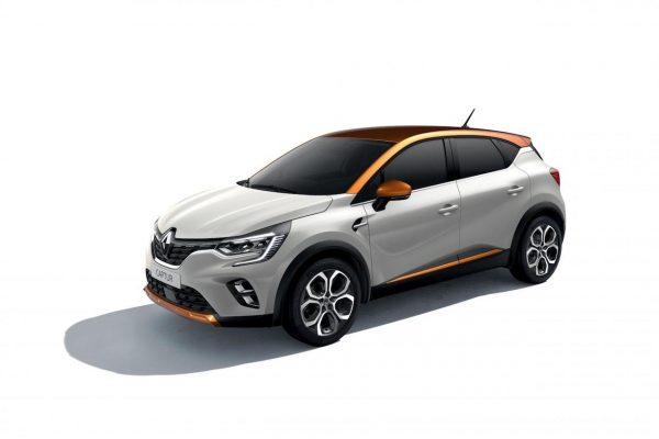 Renault Captur 2020 Highland-Grau