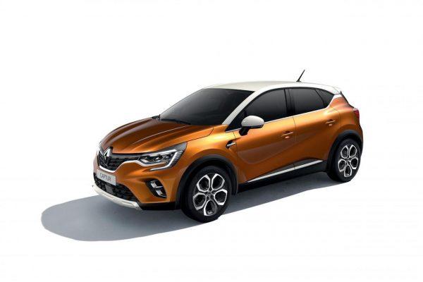 Renault Captur 2020 Taklamakan-Orange