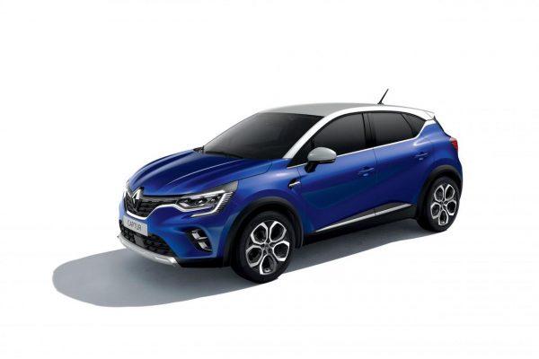 Renault Captur 2020 Iron-Blau