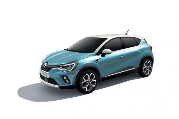 Renault Captur 2020 Aquamarin-Blau