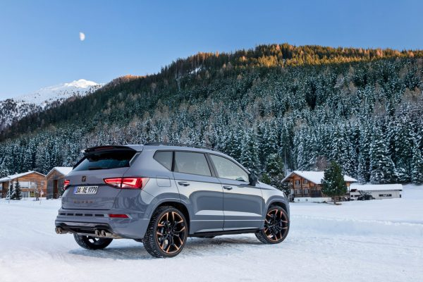 Cupra Ateca Limited Edition Heck