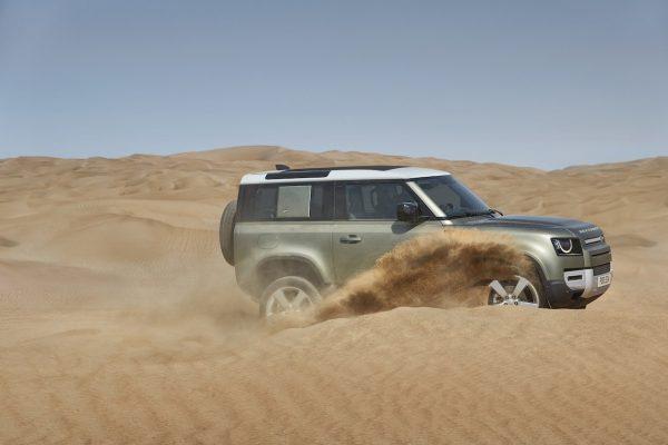Land Rover Defender 90 Sand
