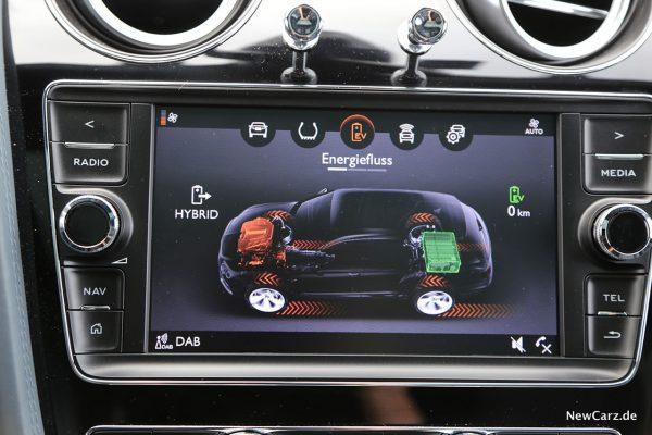 Energiemonitor Bentley Bentayga Hybrid