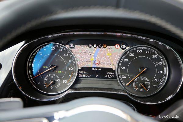 Cockpit Bentayga Hybrid