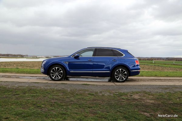 Bentley Bentayga Hybrid Seite