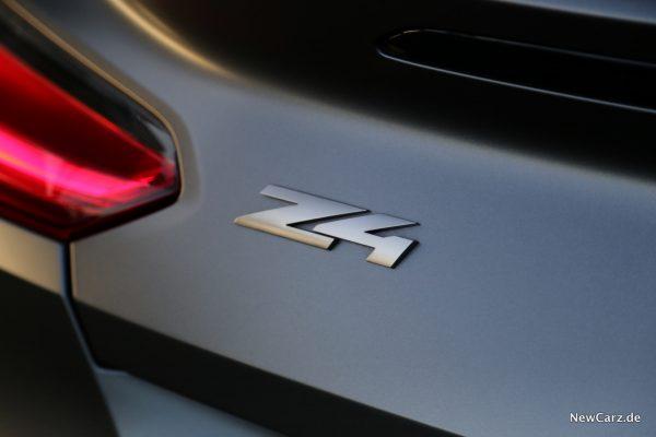 BMW Z4 Schriftzug
