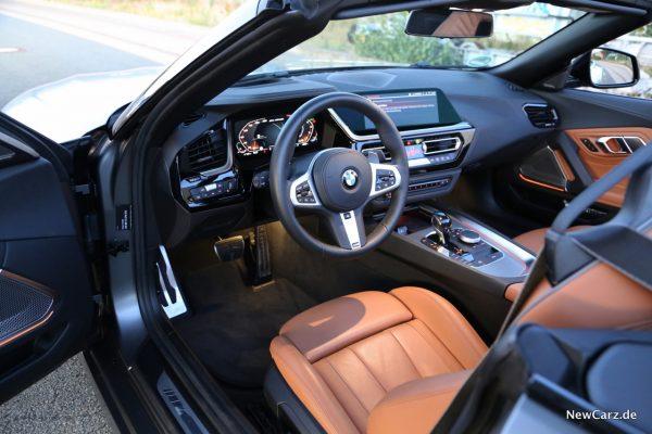 BMW Z4 M40i Innenraum