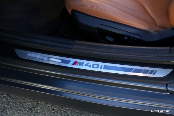 BMW Z4 M40i Einstiegsleisten