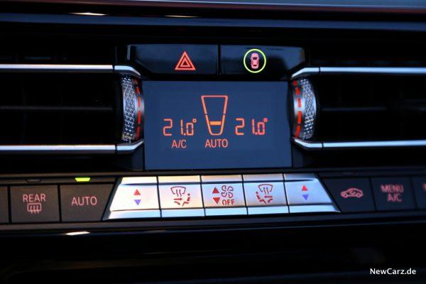 BMW Z4 M40i Klimaanlage