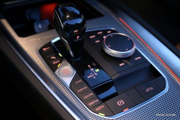 BMW Z4 Wählhebel
