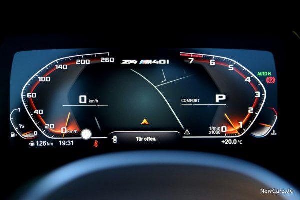 BMW Z4 M40i Cockpit