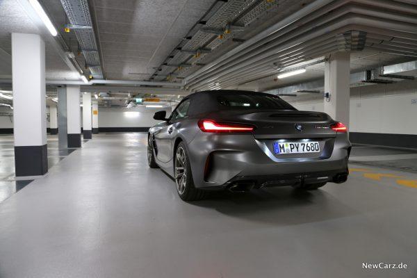 BMW Z4 M40i Kunstlicht