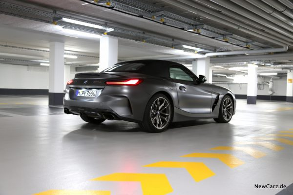 BMW Z4 M40i Heck
