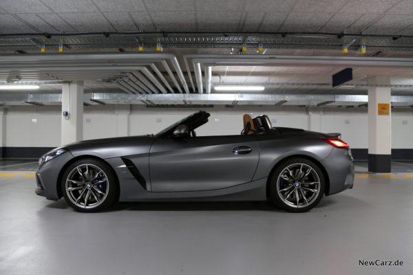 BMW Z4 M40i Seite