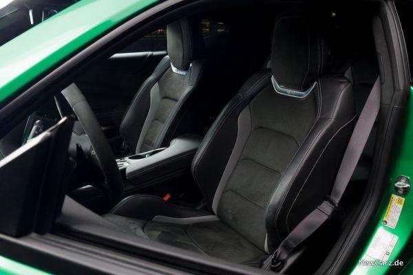 Chevrolet Camaro Track Concept Sitze