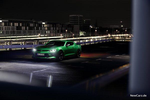 Chevrolet Camaro Track Concept Krypton Green