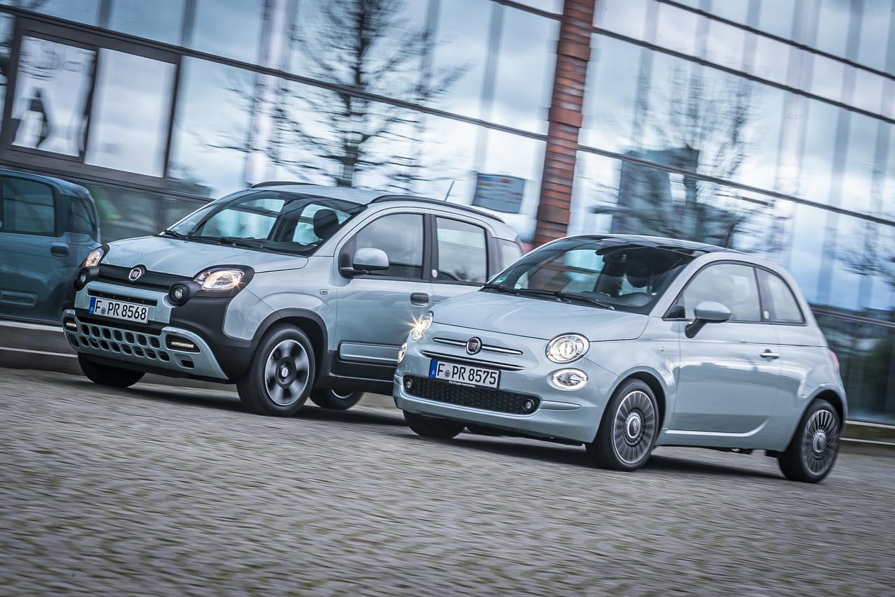 Fiat 500 und Fiat Panda Hybrid