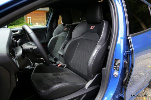Ford Focus ST 2019 Recaro Sitze