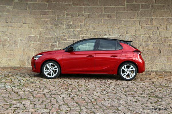 Opel Corsa GS Line Seitenansicht