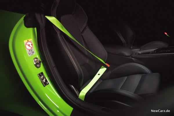 Porsche 911 Carrera 4S Cabriolet Sicherheitsgurte