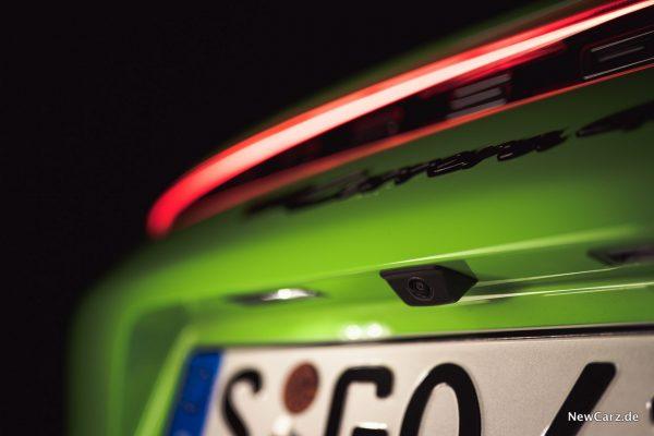 Porsche 911 Cabrio Rückfahrkamera