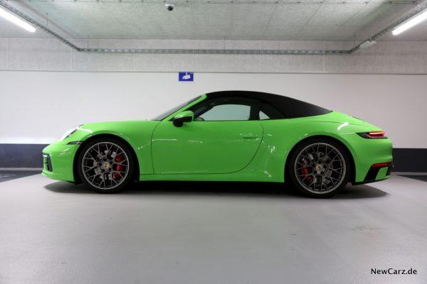 Porsche 911 Cabrio Seitenansicht