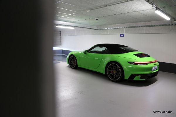 Porsche 911 Carrera 4S Cabriolet Kunstlicht