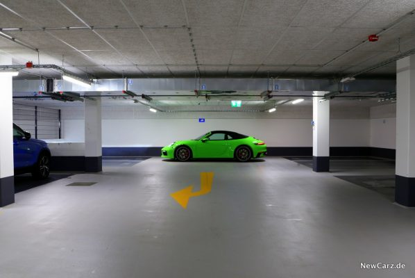 Porsche 911 Carrera 4S Cabriolet geschlossen